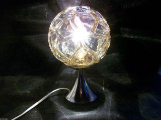 70er Jahre Space Age Tischlampe - Nachttischlampe / Fa.  Richard Essig Bild