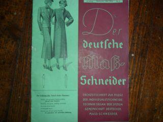 Der Deutsche Mass Schneider Vonfebruar 1936 Bild