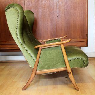 Ohrensessel Easy Chair Lounge Seat 50er Jahre Mid Century Modern Design 1950s Bild