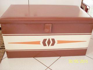 Wäschetruhe,  Wäschebox 60er 70er Jahre Bild