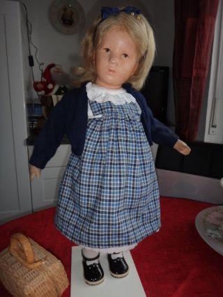 Alte Käthe Kruse Puppe Bild