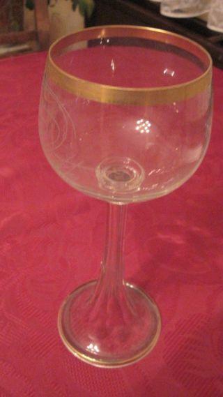 Altes Wein - Glas,  Römer (?),  Vielleicht Auch Vintage - Stil (?) Aus Omas Haushalt Bild