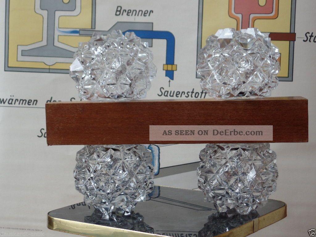 Sternen kristall lampe 70er jahre aka electric veb for Ohrensessel 70er