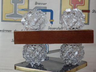 Sternen Kristall Lampe 70er Jahre Aka Electric Veb Spezialleuchtenbau Wurzen Ddr Bild
