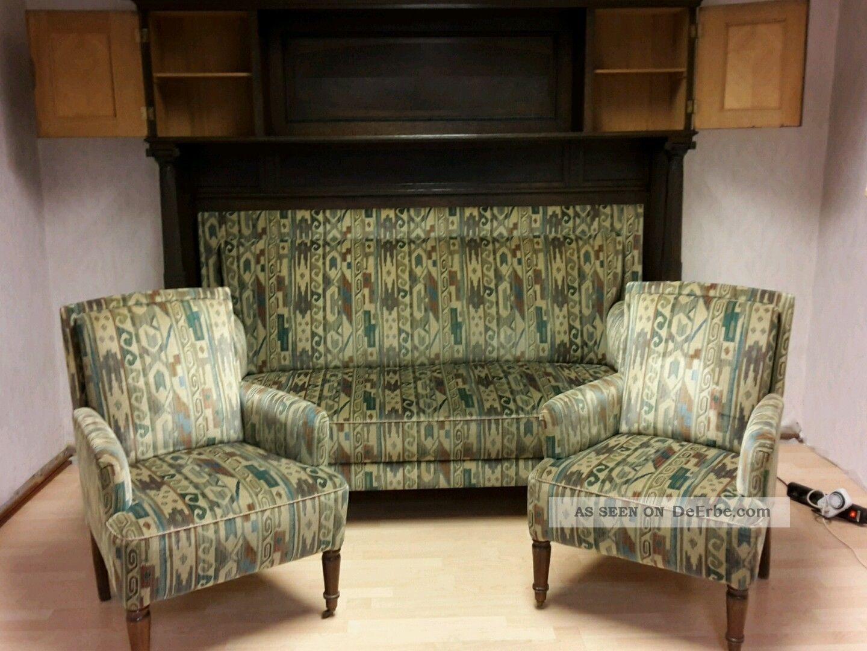 liebhaberst ck berbautes sofa mit 2 sesseln. Black Bedroom Furniture Sets. Home Design Ideas