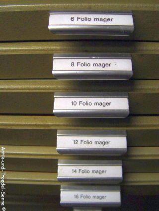 36,  5 Kg Alte Bleibuchstaben Bleischrift Bleisatz Folio Mager 6/8/10/12/14/16 Bild