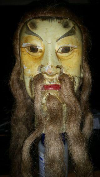 Budaixi Holz Puppe China Oder Taiwan? Sehr Selten Bild