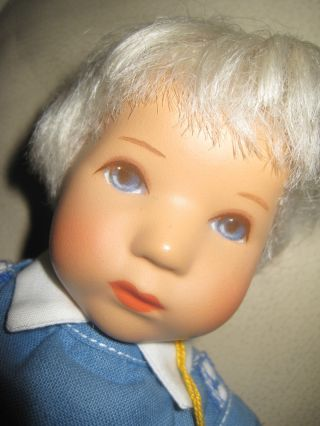 Käthe Kruse Puppe Wohl Däumlinchen Junge Modell Hanne Kruse Bild