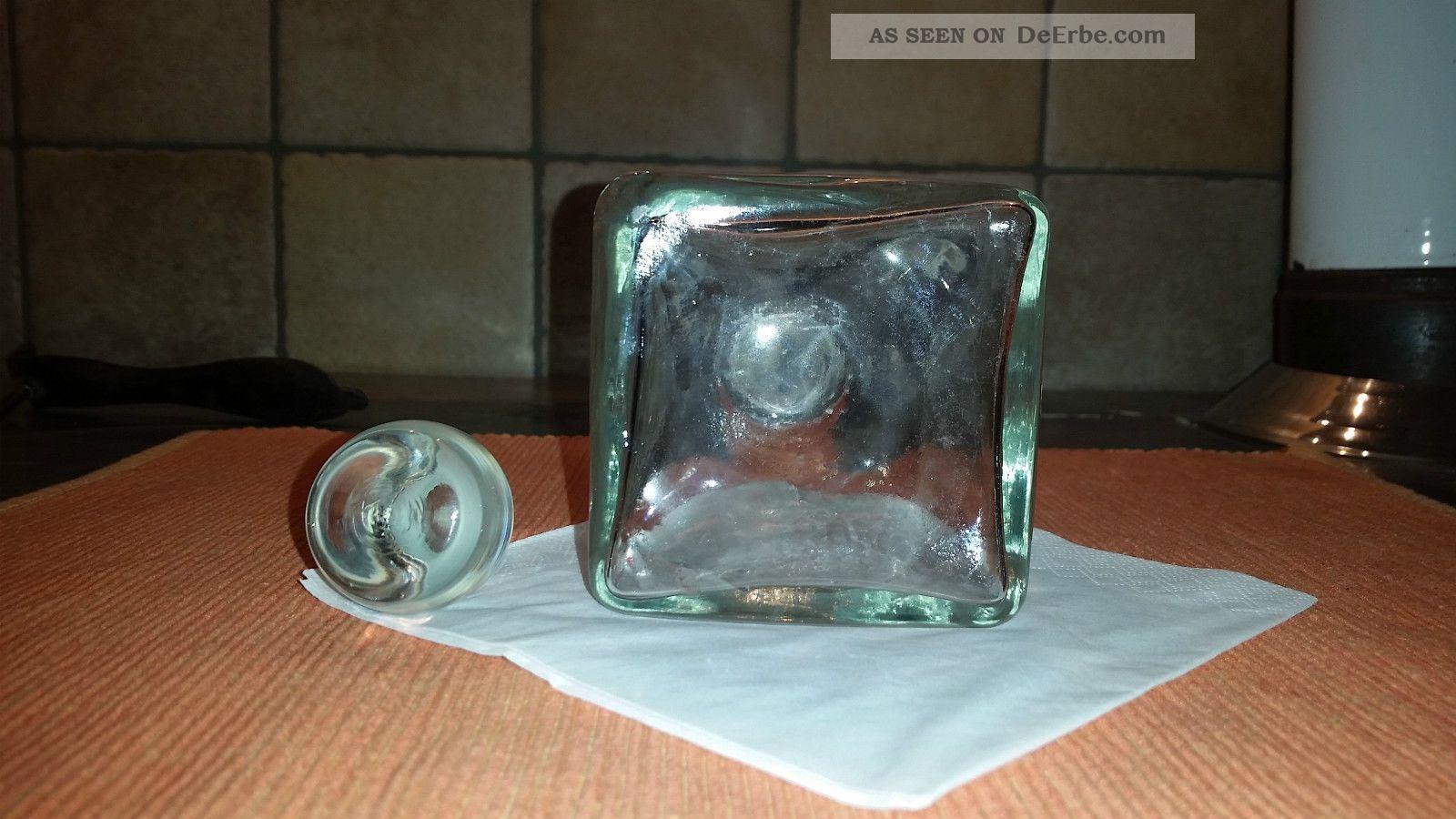 opa s kristall whisky karaffe antik. Black Bedroom Furniture Sets. Home Design Ideas