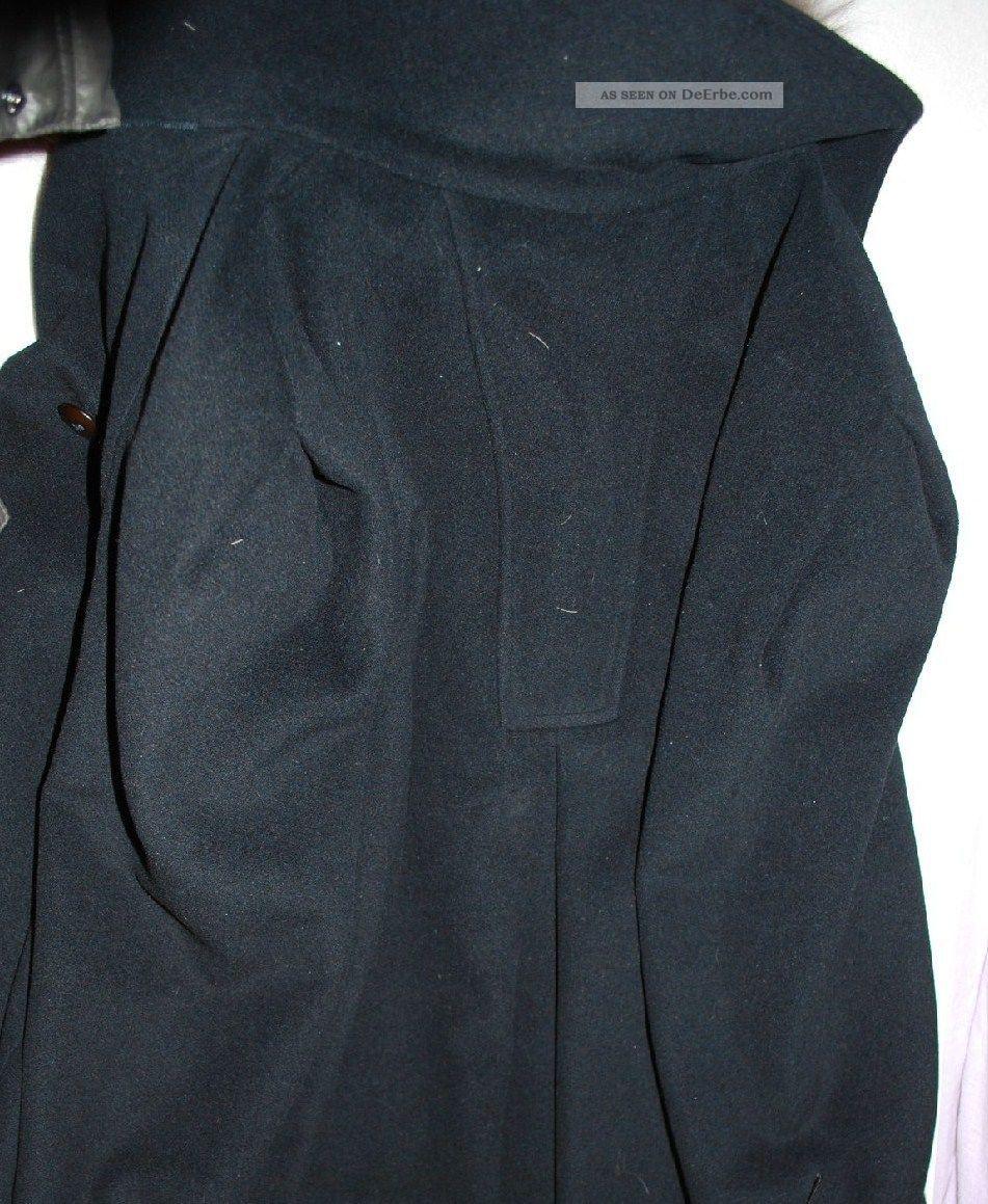 wundersch ner warmer mantel cashmere mit pelz kragen echt. Black Bedroom Furniture Sets. Home Design Ideas