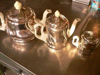 Thermokannen 50er Jahre 3 Stück Tee,  Kaffee Und Milch Ansehen Bild
