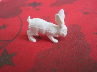 Antike Miniaturschnitzerei Hase Aus Bein Bild