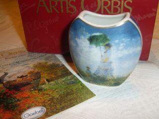 Goebel - Artis Orbis - Monet Vase Madame Monet Ov Bild
