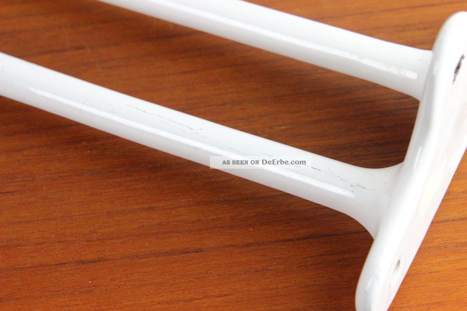 Azulejos Baño Bauhaus: Emaille Handtuchhalter Für Zwei Handtücher Bauhaus ära Shabby Chic