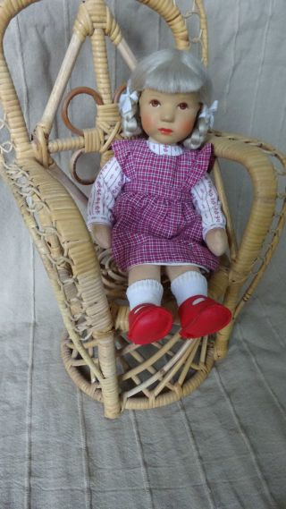 Käthe Kruse Puppe Mareile Däumlinchen/däumelinchen 25 Cm Im Originalkarton Bild