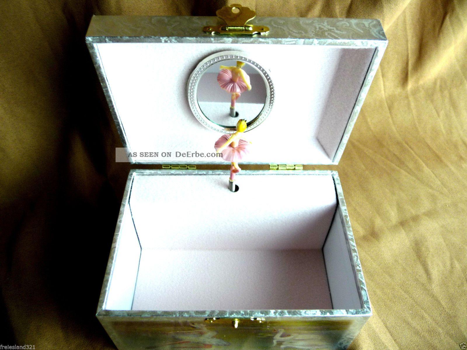 Schwanensee Spieldose Musikspieldose Ballerina IV Melodie