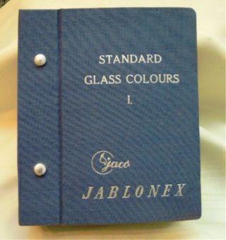 Musterbuch Glasknöpfe Gablonz Bild