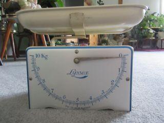 Lyssex Küchenwaage,  10kg - Antik Bild
