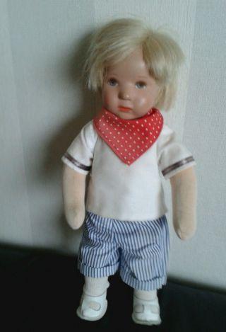 Kåhte Kruse Puppe Junge Bild