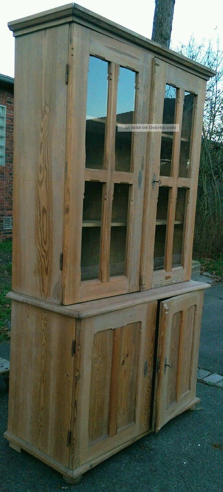 vitrine schrank antik. Black Bedroom Furniture Sets. Home Design Ideas
