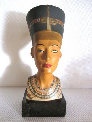 Nofretete Büste Von Paul Keilbar,  Naumburger Kunstwerkstätten,  Keramik,  Ägypten Bild