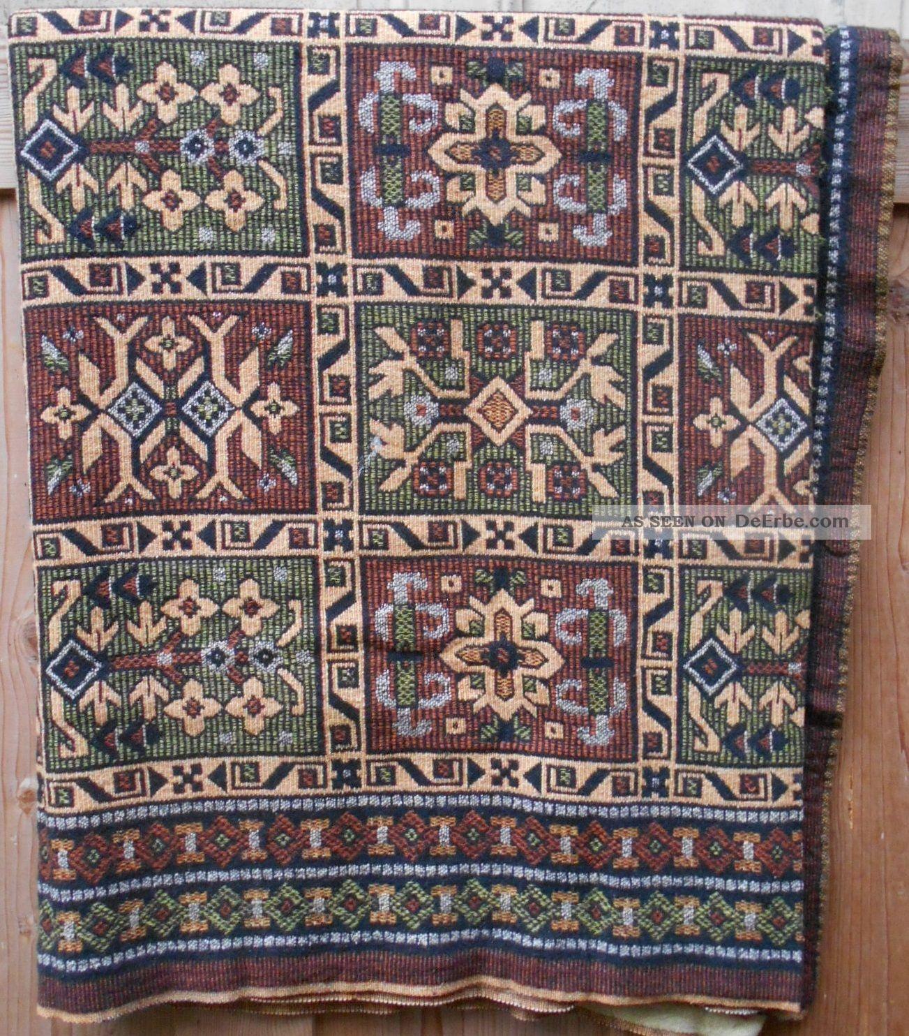 Alte Decke Gewebt Sofadecke Tischdecke 2,  30x1,  35 Cm 40 - 50er Jahre Tischdecken Bild