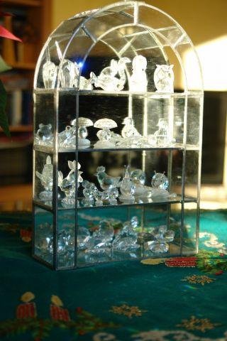Swarovski Bleiverglaste Vitrine F.  Figuren,  36,  0 Cm,  Nur Vitrine,  In Bild