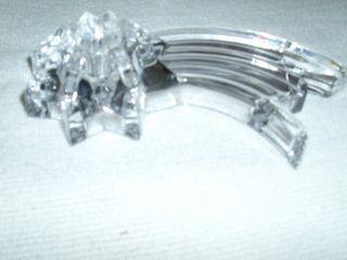 Biete Bleikristall Glasstern Für Teelicht An Bild