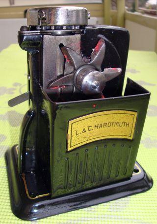 L.  & C.  Hardtmuth Anspitzer Spitzmaschine Vint.  Czech/austrian Pencil Sharpener Bild