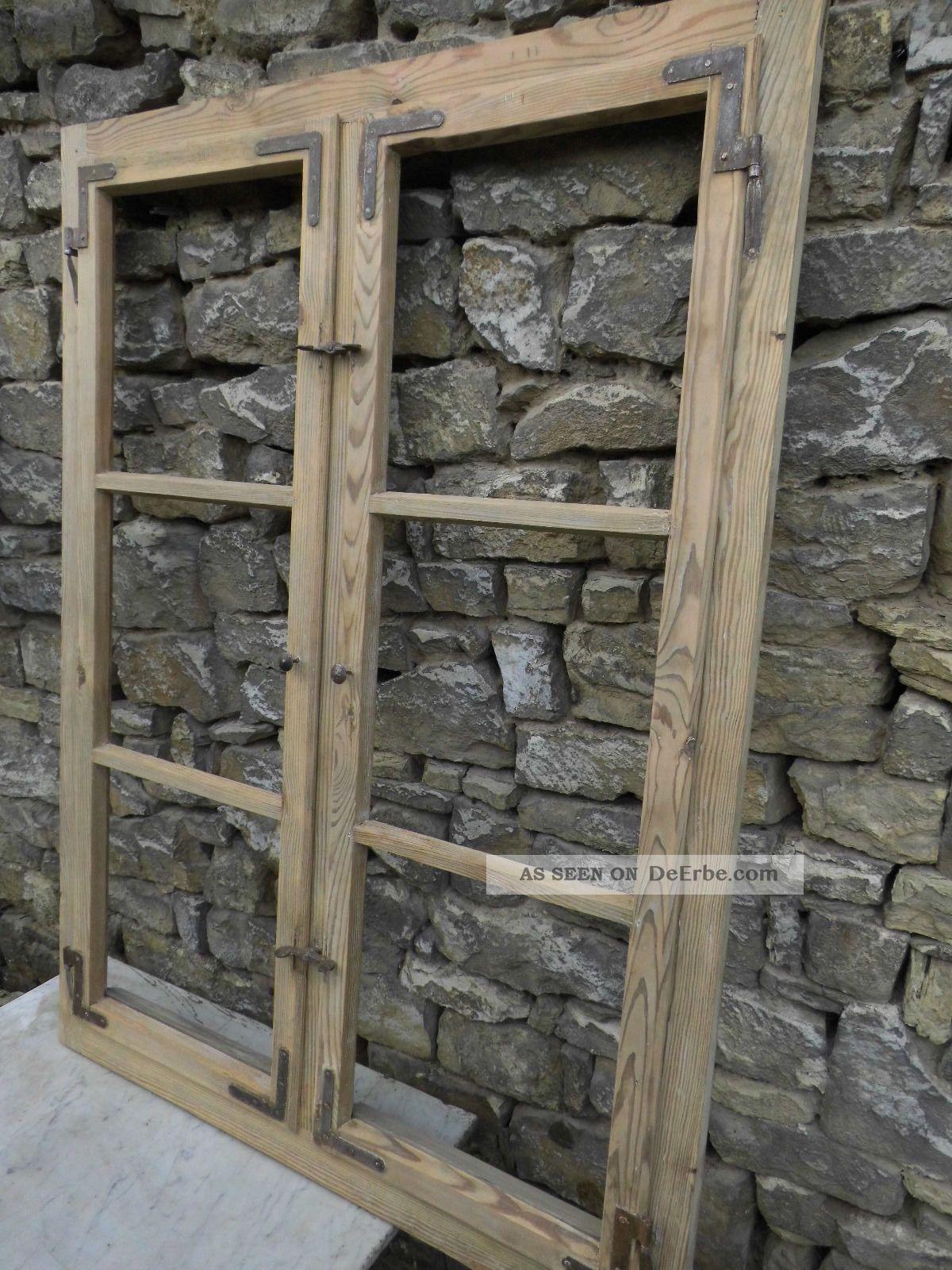 altes holzfenster landhaus sprossenfenster fenster um 1930. Black Bedroom Furniture Sets. Home Design Ideas