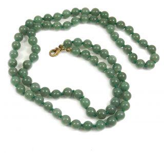 Perlenkette jade