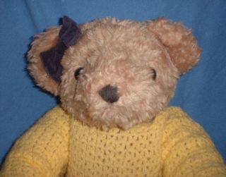 Antik Teddy Teddybär Teddymädchen Austria Leopoldsdorf BÄrin Shabby Chic Vintage Bild