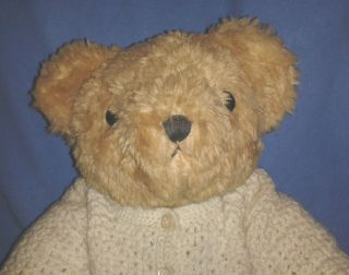 Antik Teddy Teddybär Teddy Stoffbär Austria Leopoldsdorf BÄr Shabby Chic Vintage Bild