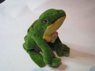 Steiff Figur Antik Froggy Tadelloser,  Wie Bild
