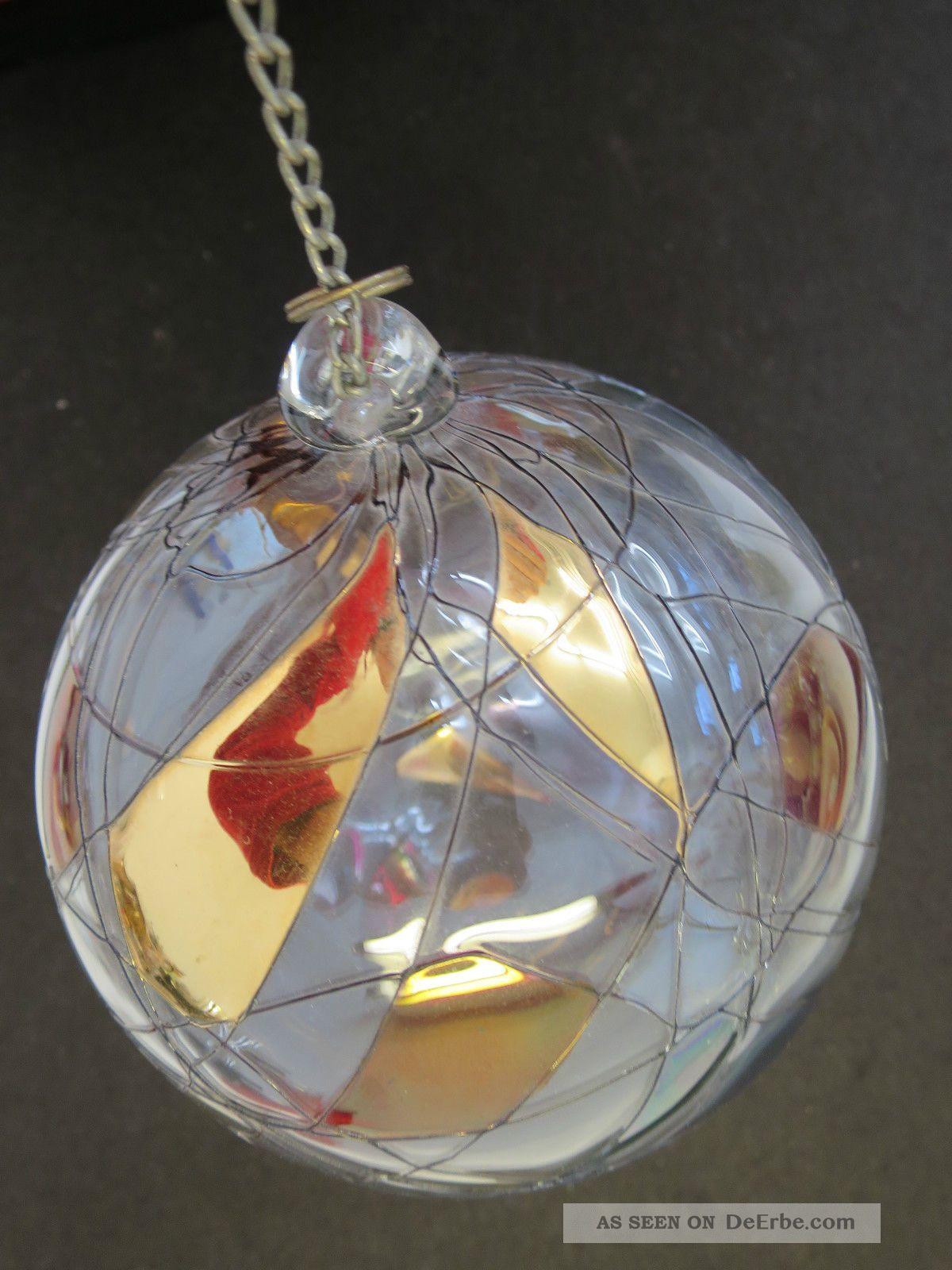 Ae4 Dekokugel Dekoration Glas Kugel Mit