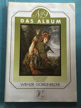 Wiehler Gobelinbilder Katalog Mit Preisliste Nr 9 / 1989 Bild