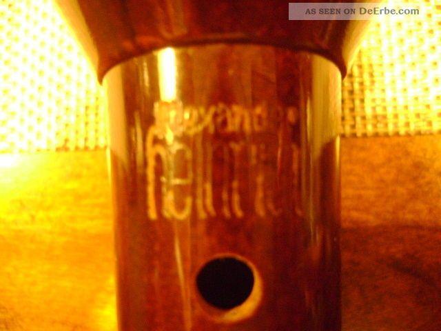 Alte blockfl te fl te alexander heinrich 47cm mit koffer for Alexander heinrich