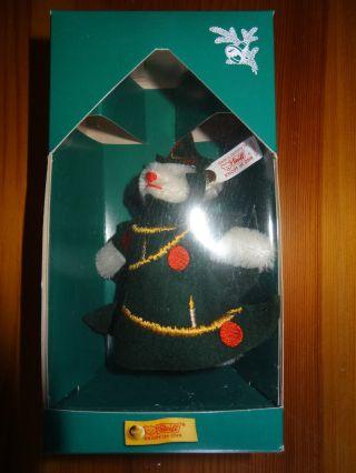 Steiff Weihnachtsbaum Bär 1998 Limitiert Auf 5000 Stk Nr.  670329 Bild