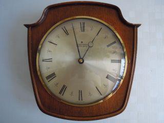 Junghans Electro - Gong ältere Wanduhr Uhrwerk Einwandfrei,  Gongeschlag Mit Fehler Bild