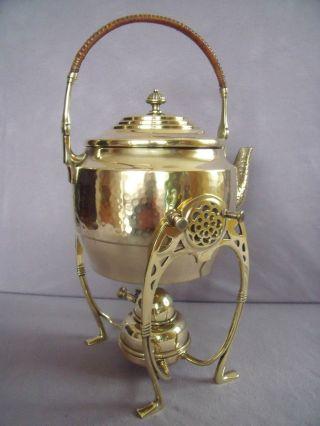 Schöner Wmf Jugendstil Rechaud Teekessel Teekanne Um 1910 Bild
