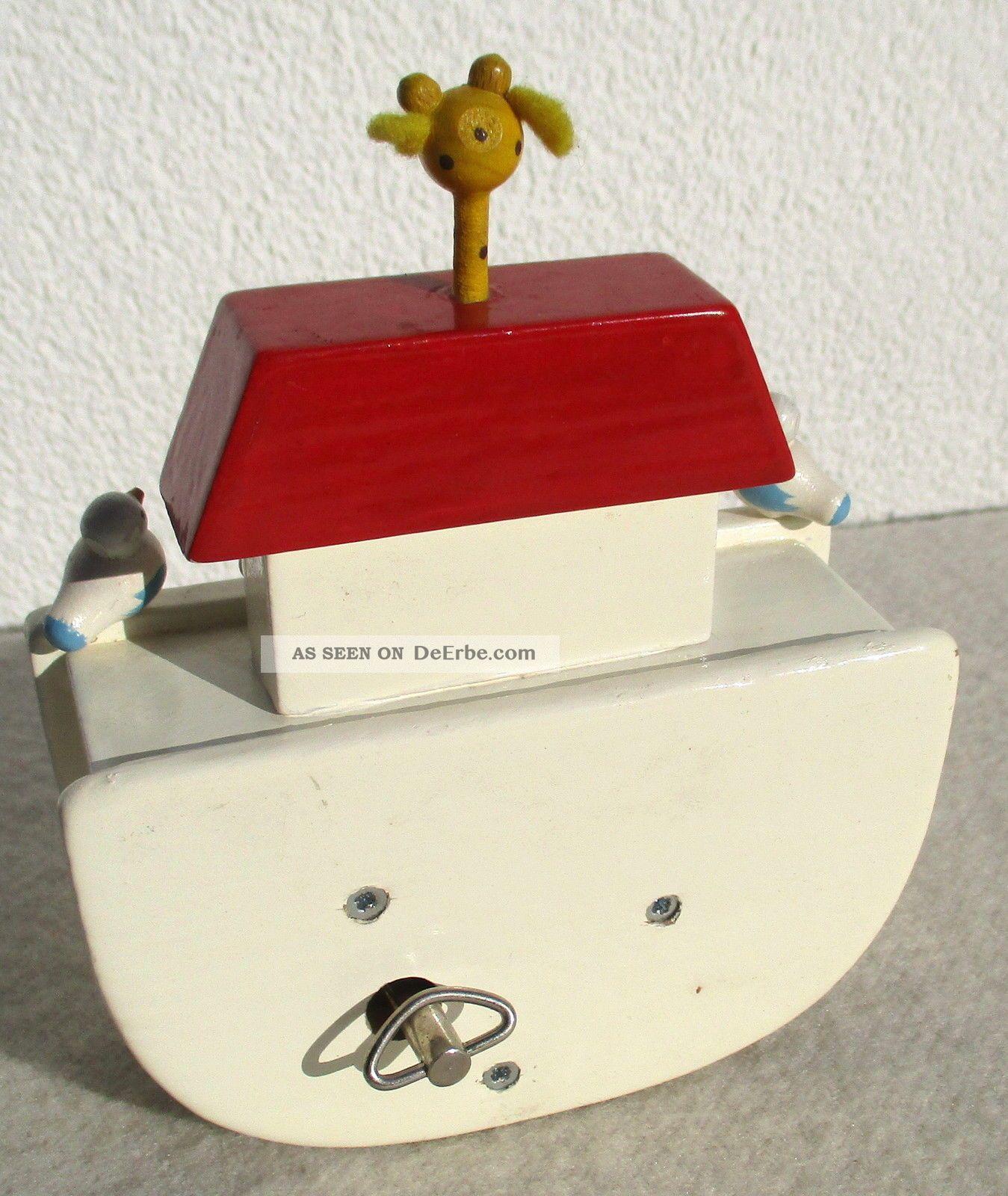 spieluhr spieldose holz arche noah melodie la paloma. Black Bedroom Furniture Sets. Home Design Ideas