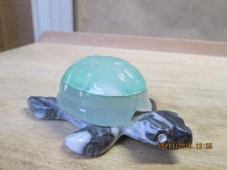 Schildkröte Aus Jade,  Handarbeit,  Mexico 2010 Bild