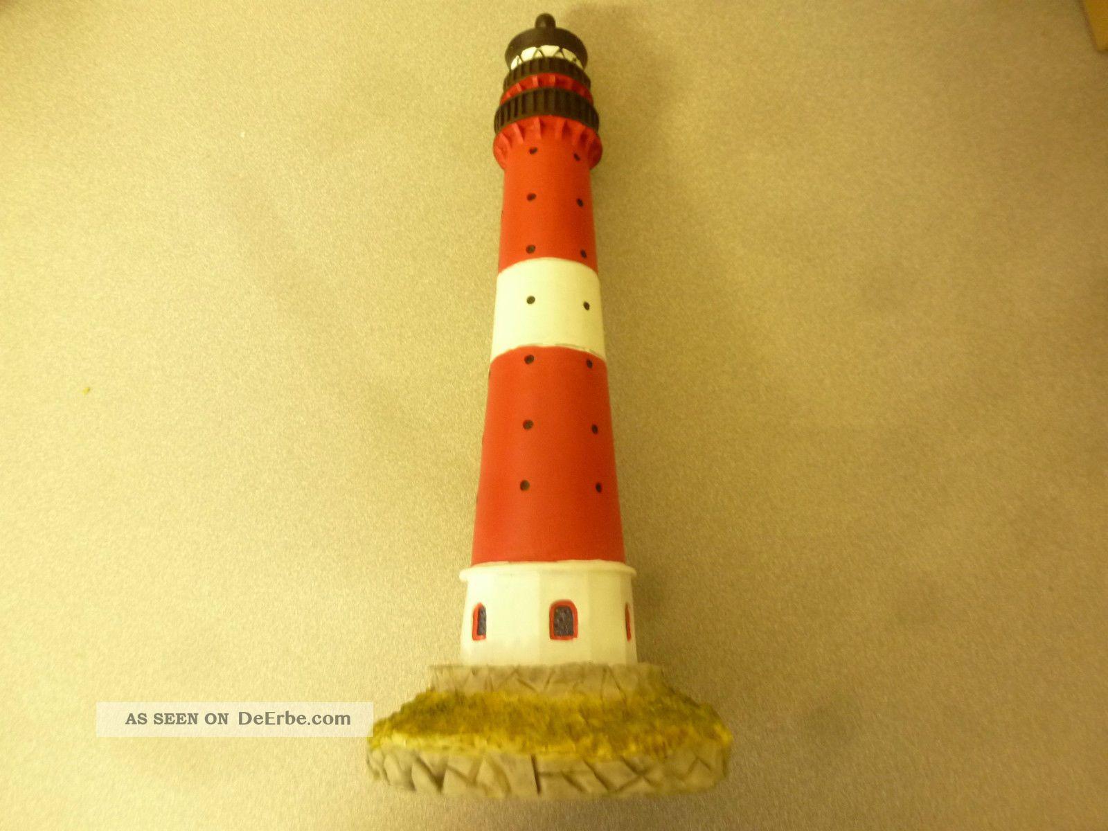 Leuchtturm aus polystone ma stab ca 1 87 eisenbahn for Maritimes bad