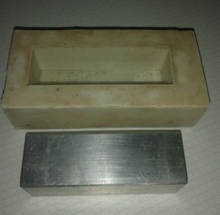Silikonform,  Alu Musterrohling Für Modellbau,  Landschaftsbau,  Ankerbausteine Bild