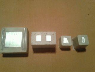 Silikonform Modellbau/landschaftsbau/ankersteine,  Aluminumrohling