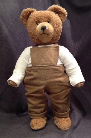 älterer Diem - Teddybär - Ca.  45 Cm Groß - Mit Sachen Bild