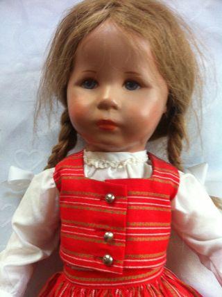 Schöne Alte Käthe Kruse Puppe Aus Haushaltsauflösung Von 1960jh Seltenes Stück Bild