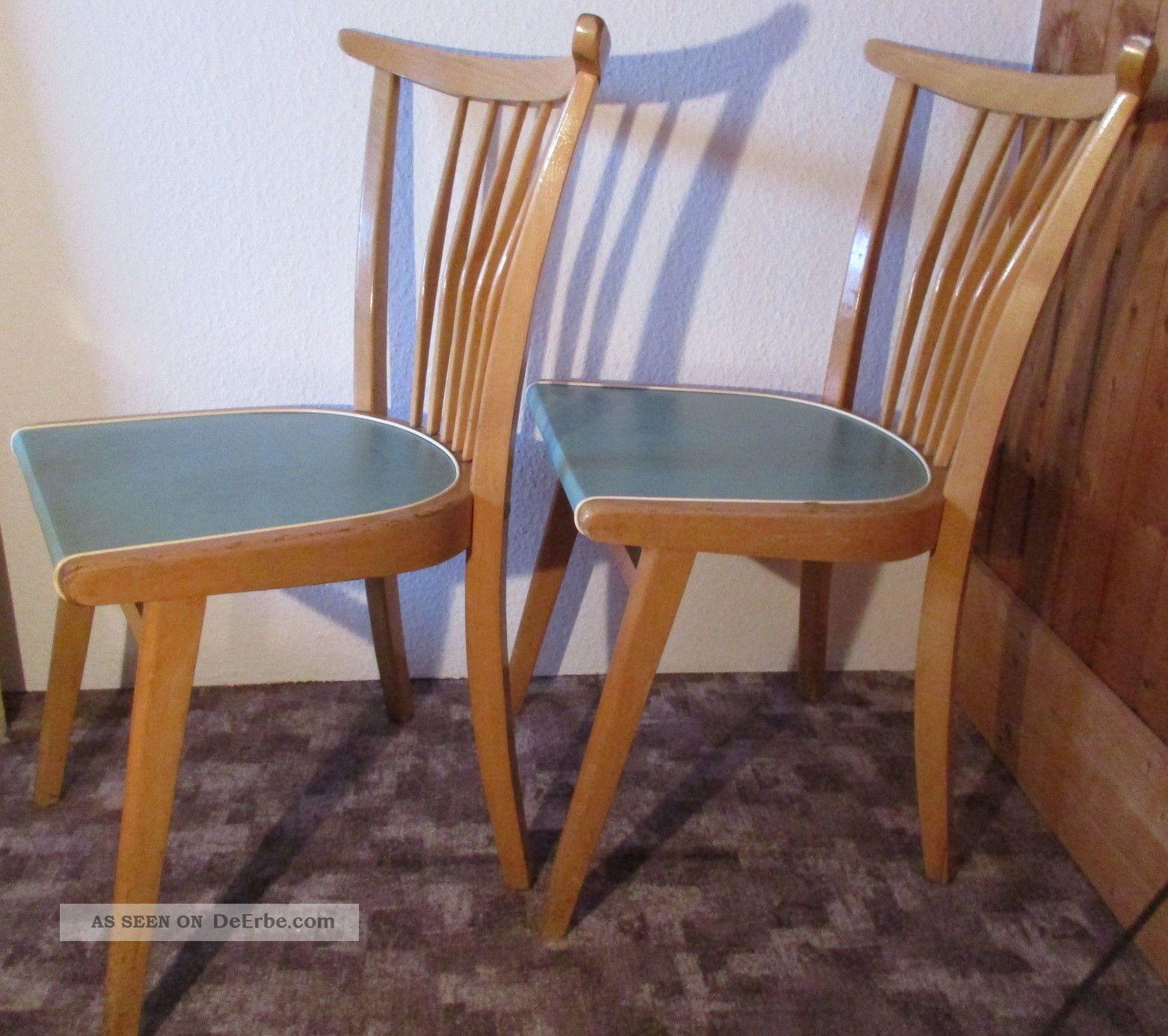alter k chen stuhl strebenstuhl 50er rockabilly kitchen chair vintage shabby. Black Bedroom Furniture Sets. Home Design Ideas