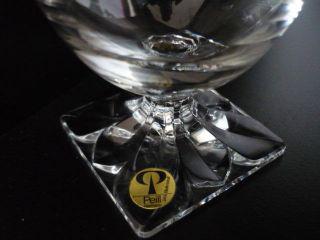 6 X Orig.  Peill Gläser Glas Kristallglas 14cm Wasserglas Weinglas Saftglas Bild