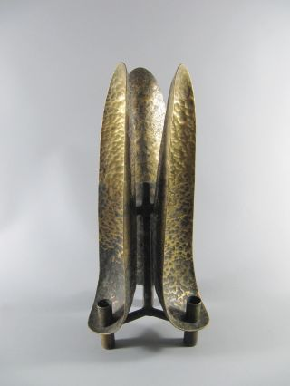 Seltener 60`s Kerzenleuchter Bronze Unikat - Very Rar Candle Holder Bild